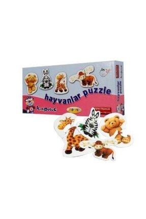 Kırkpabuç Puzzle Hayvanlar 6111
