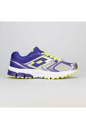 Lotto S1834 Zenith Gri Mor Koşu Kadın Spor Ayakkabı