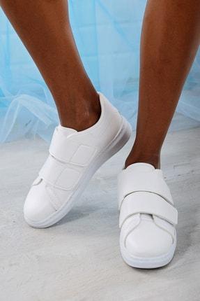Du Jour Paris Kadın Beyaz  Spor Ayakkabı 4000-19-101003