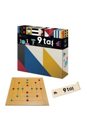 Zetzeka Zet Zeka 9/dokuz Taş Lüx Ahşap Zeka, Akıl, Mantık Ve Strateji Oyunu