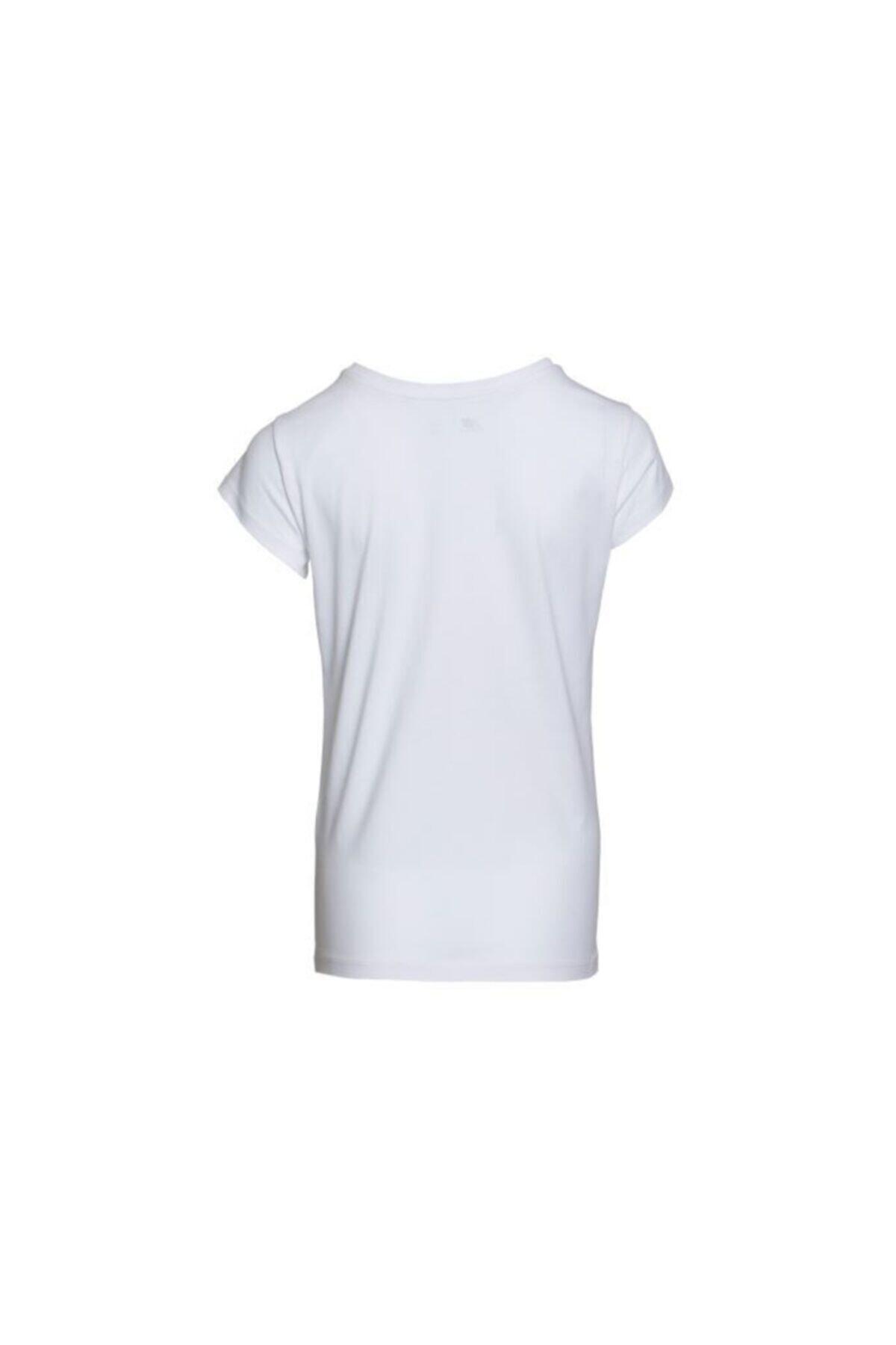 New Balance Kadın Beyaz T-shirt Wps001-wt 2