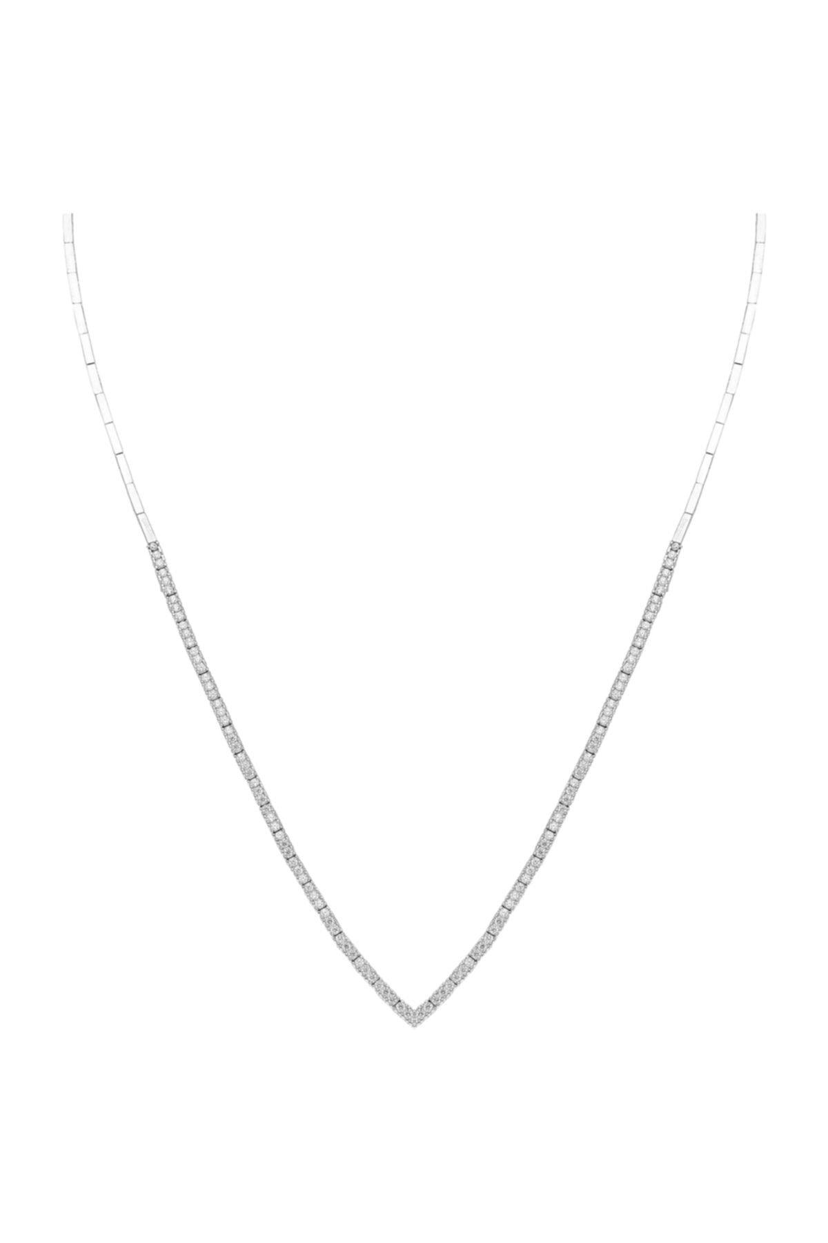Chavin Kadın Beyaz Su Yolu Gümüş Kolye Küpe Bileklik Yüzük Set Dz27 2