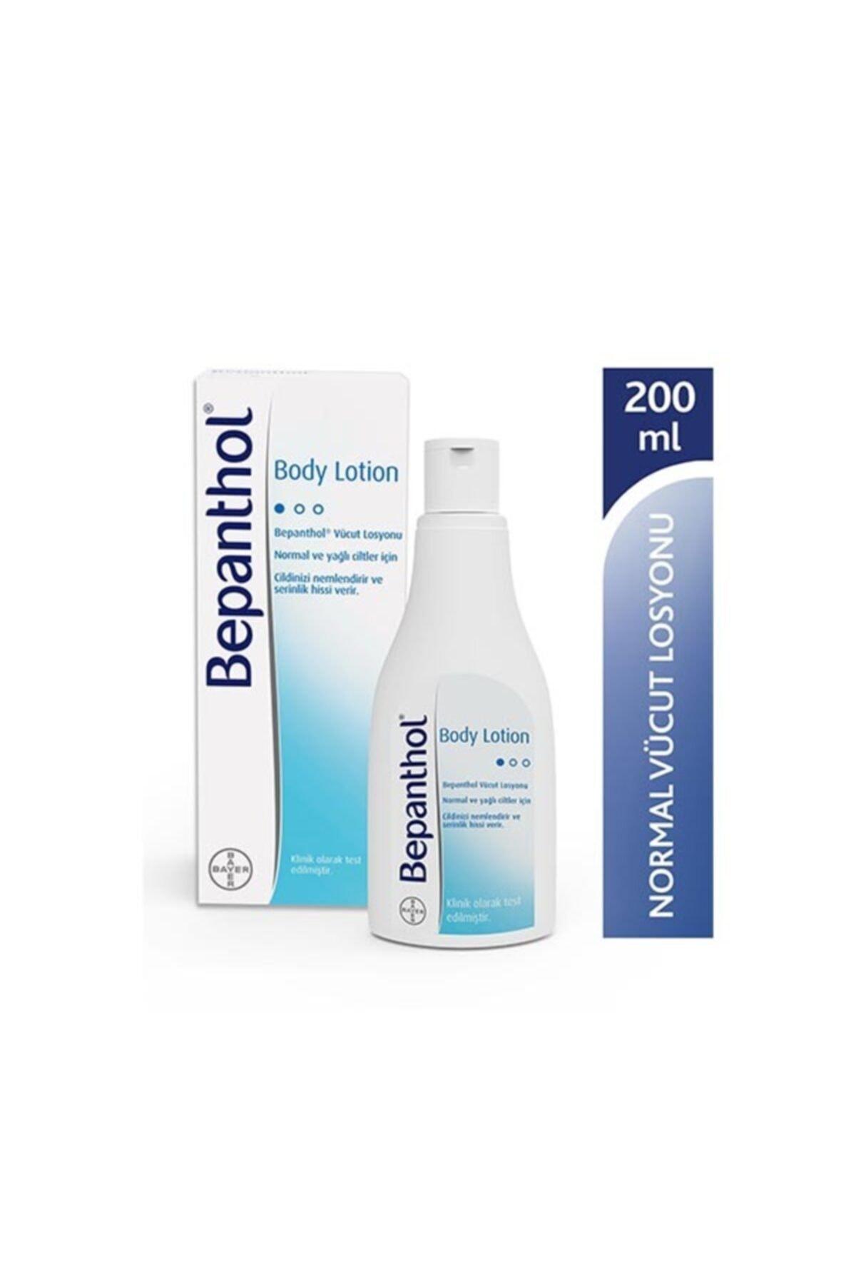 Bepanthol Body Lotion Nemlendirici Vücut Losyonu 200 Ml Normal & Yağlı Ciltler 1