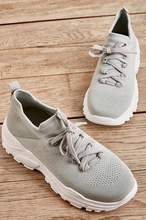 Bambi Gri Kadın Sneaker L0816049182