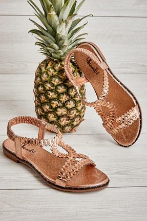 Bambi Rose Kadın Sandalet L0512025236