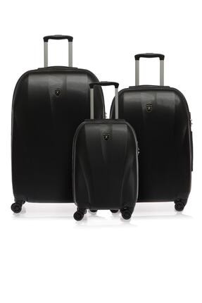 Beverly Hills Polo Club Bhpc105513-set Siyah Unısex 3 Lü Set Valiz