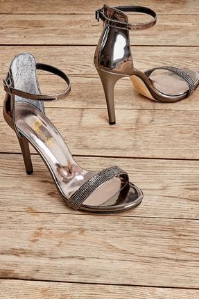 Bambi Kurşun Kadın Abiye Ayakkabı L0501802339