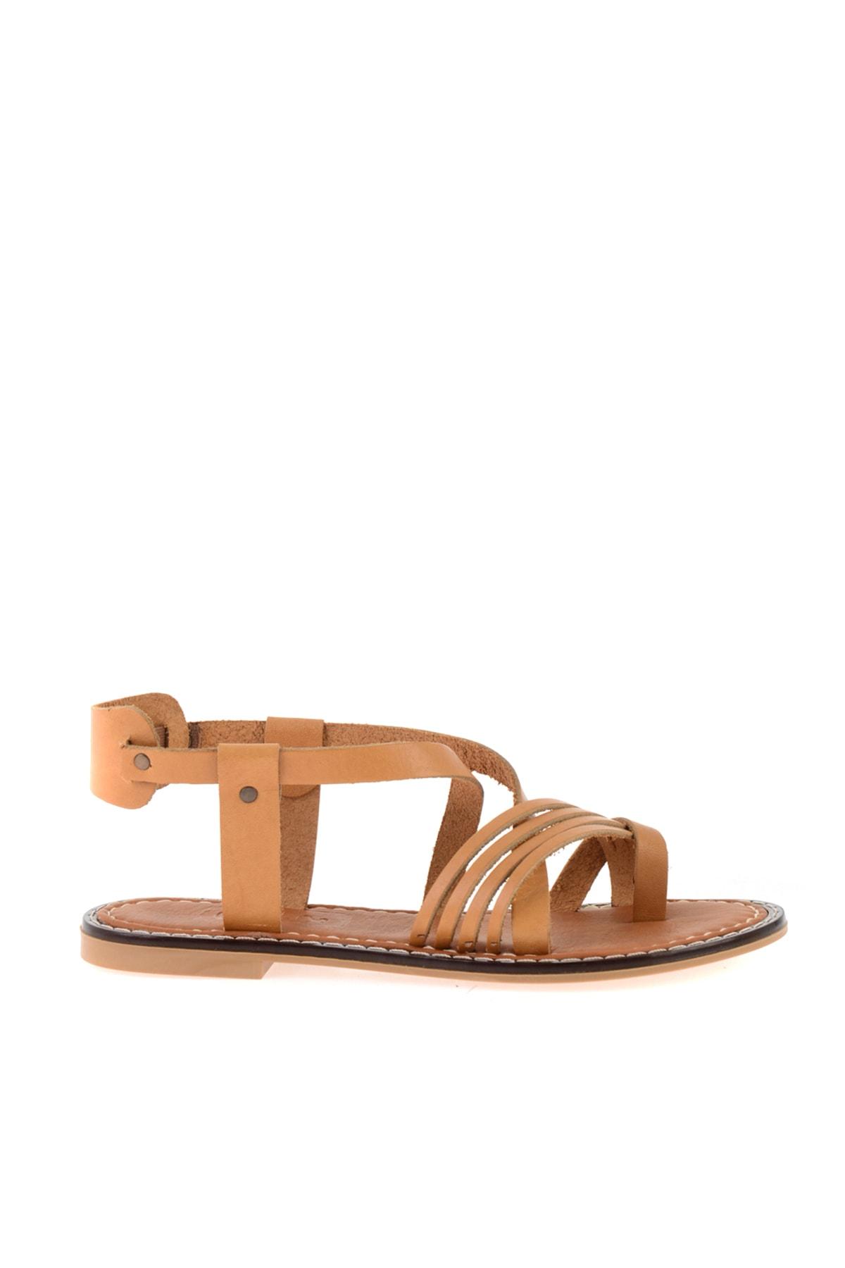 Bambi Taba Kadın Sandalet L0602808503 2