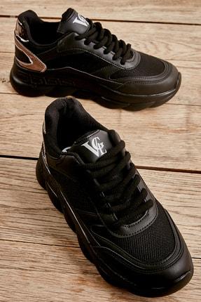 Bambi Siyah Kadın Sneaker L0591138809