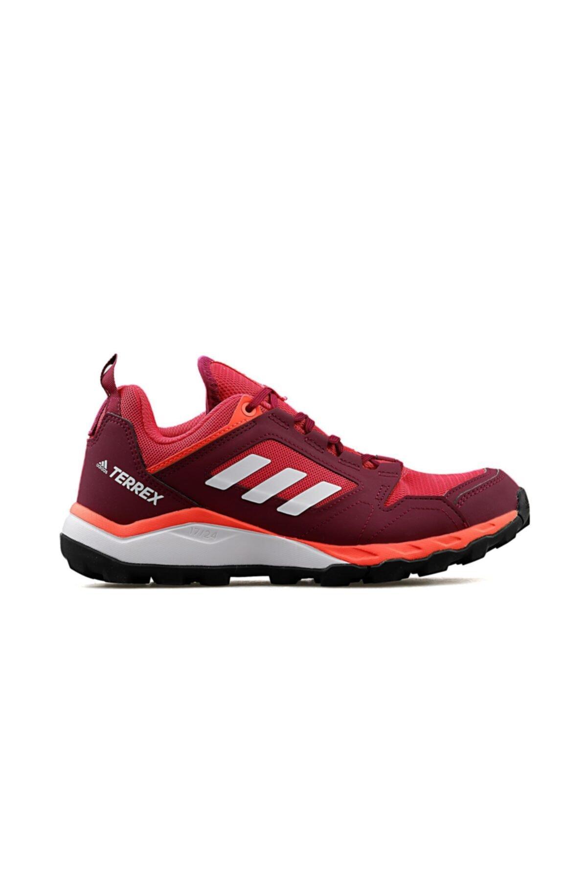 adidas Pembe-bordo Kadın Outdoor Ayakkabısı Fv2491 Terrex Agravic Lt W 1