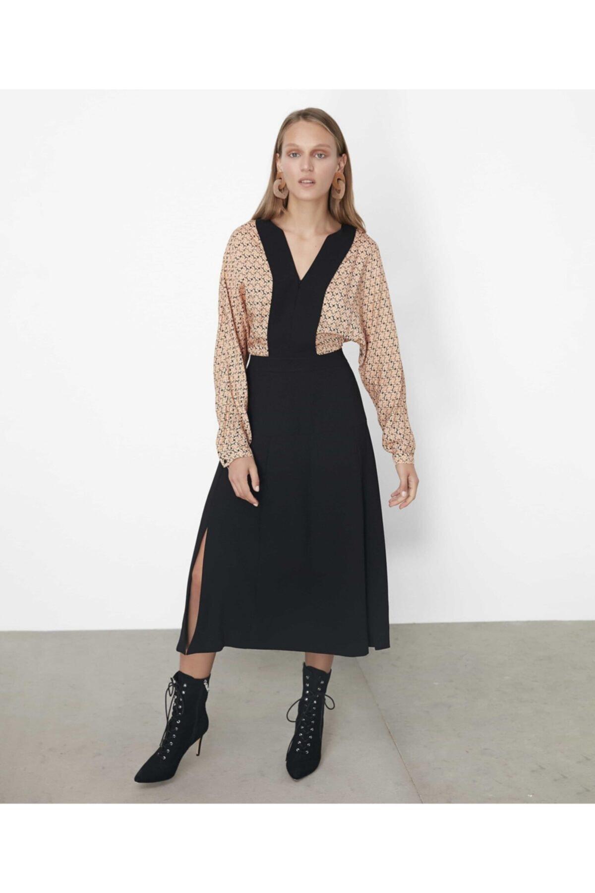 İpekyol Kumaş Mixli Elbise 1