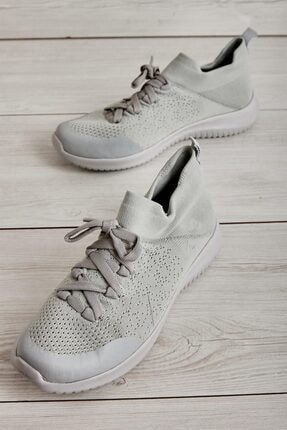 Bambi Açık Gri Kadın Sneaker L0816046882