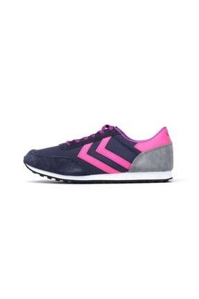 HUMMEL SEVENTYONE CLASSIC SS17 Lacivert Pembe Gri Kadın Sneaker 100257309