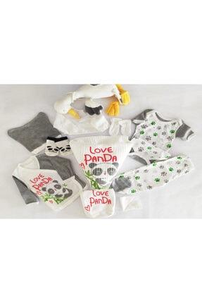 Donino Baby Yeni Doğan Uni Love Panda Hastane Çıkış Seti
