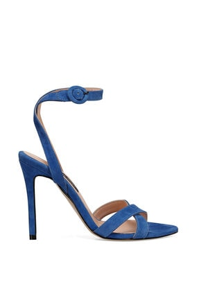 Nine West TOMI Saks Kadın Topuklu Sandalet 100526673