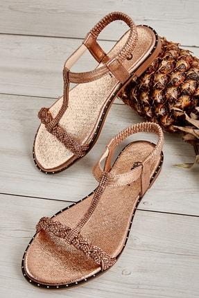 Bambi Rose Kadın Sandalet L0512027736