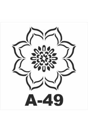 Artebella Stencil Şablon 20x20 Cm. Model No: A-49