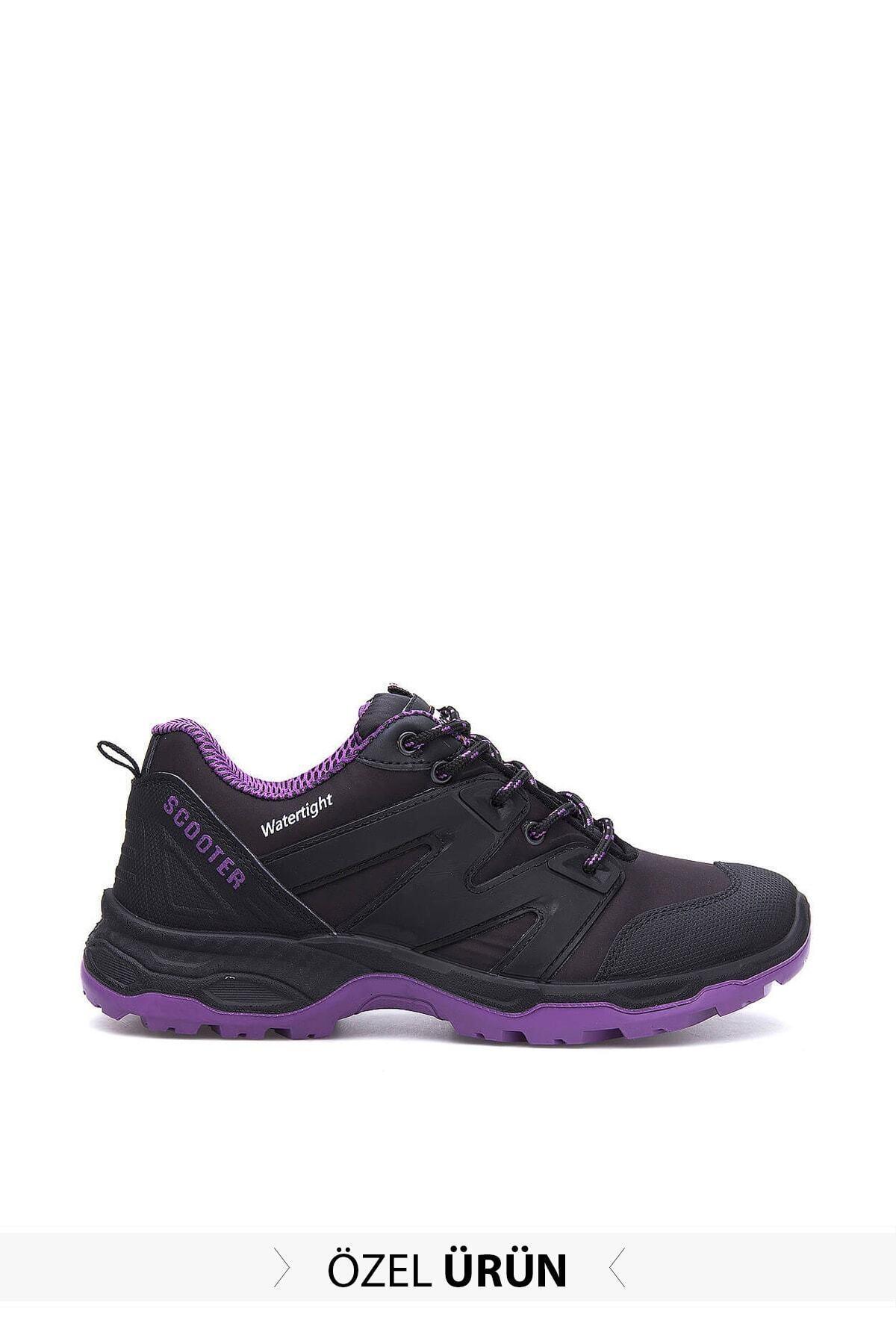 Scooter Kadın Siyah-mor Sneaker - 2jmyw2017034 1