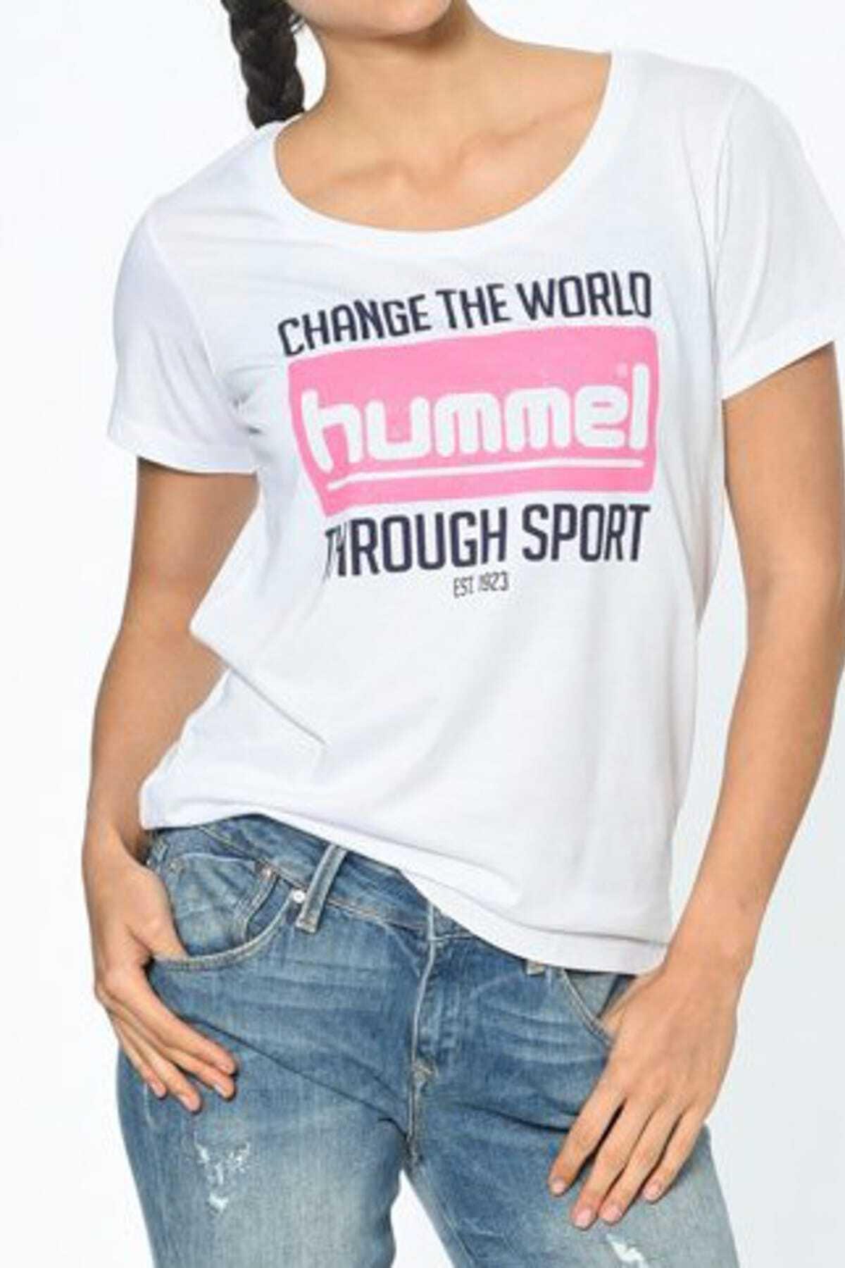 HUMMEL Kadın T-shirt Hmlbeulah Ss Tee 1