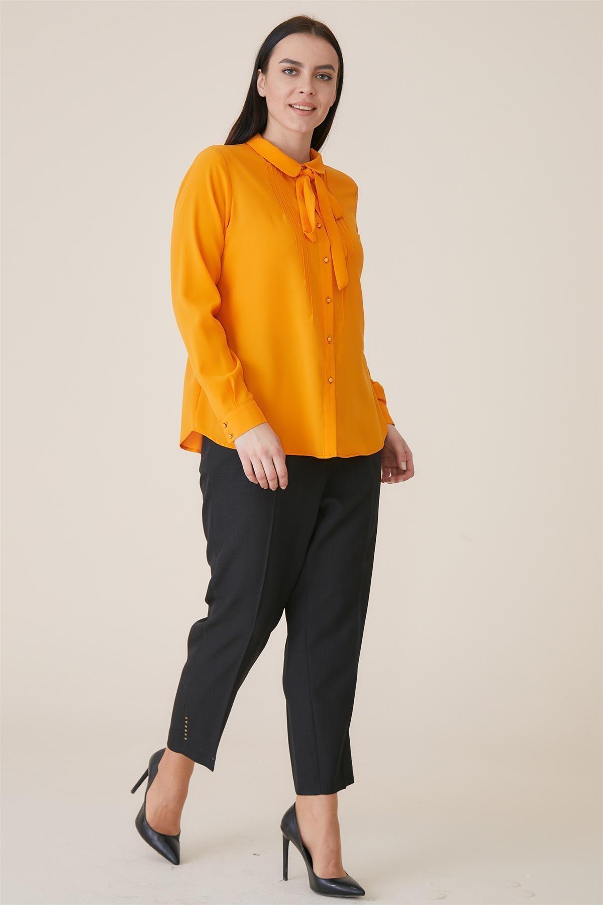 Tuğba Gömlek-oranj Tk-u8900-25 2