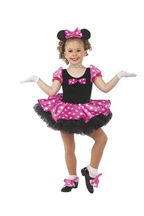 Masal Kostüm Mini Fare Kostümü Minnie Mouse