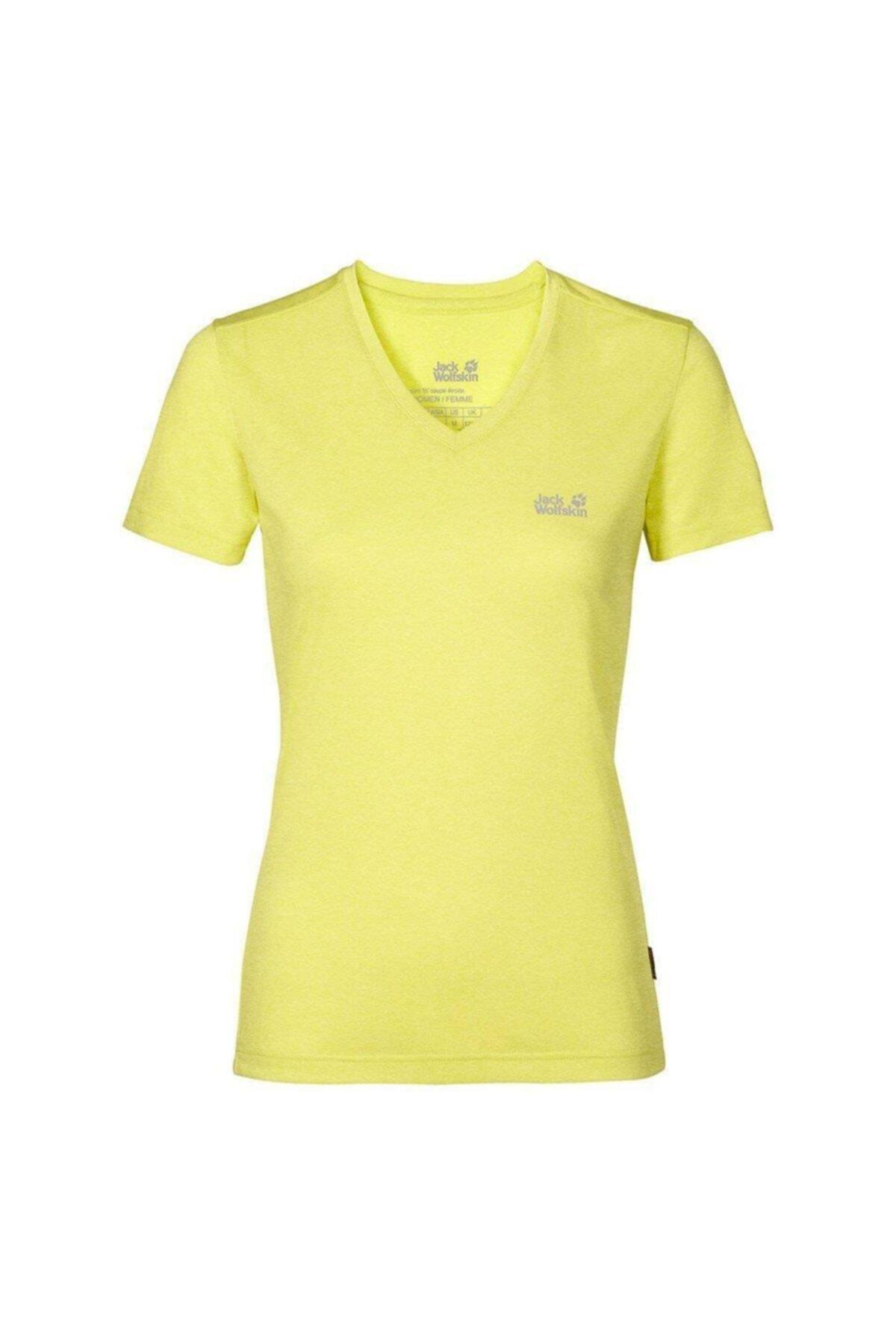 Jack Wolfskin Crosstrail Kadın T-shirt - 1801692-3075 1