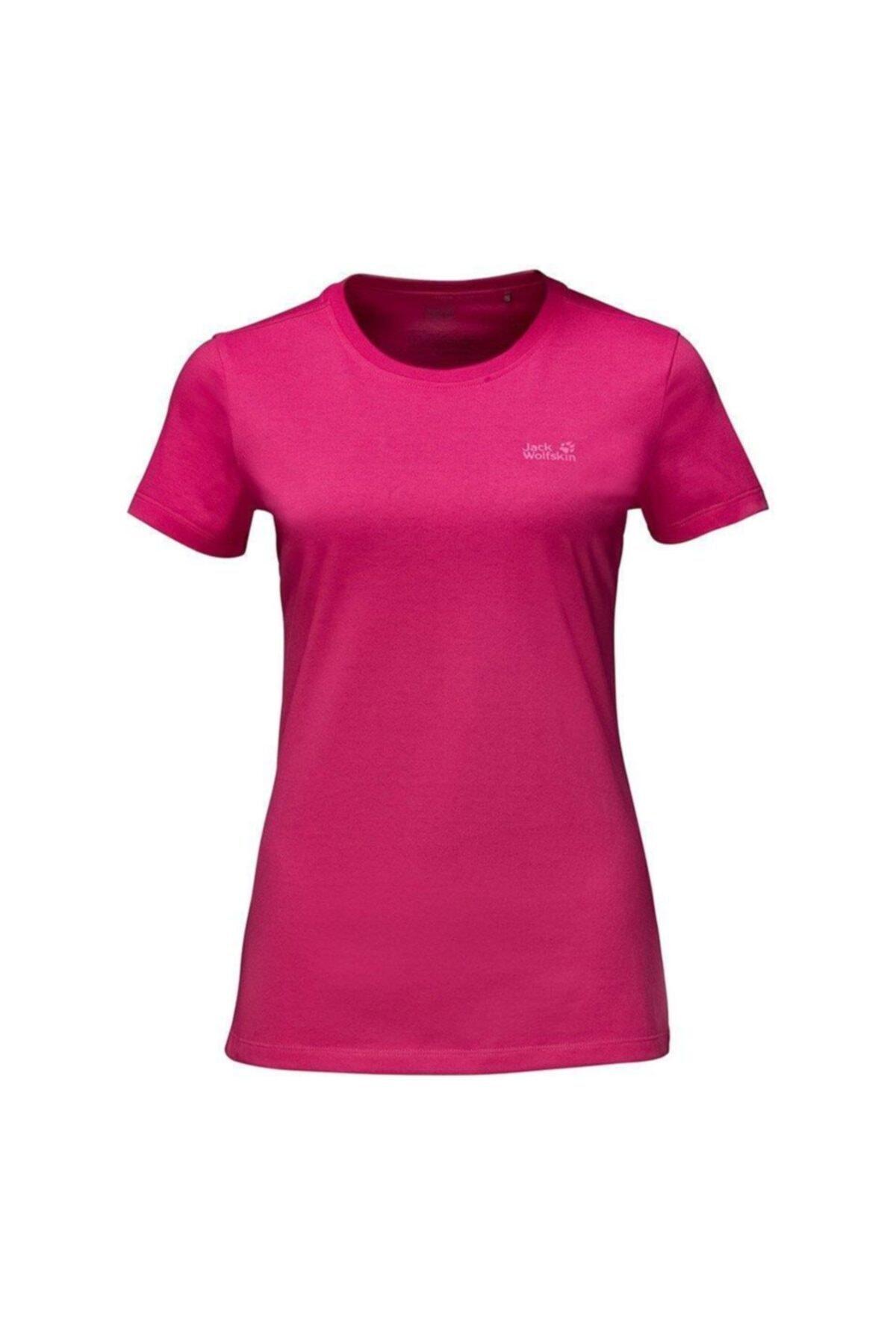 Jack Wolfskin Essential Kadın T-shirt - 1805791-2145 1