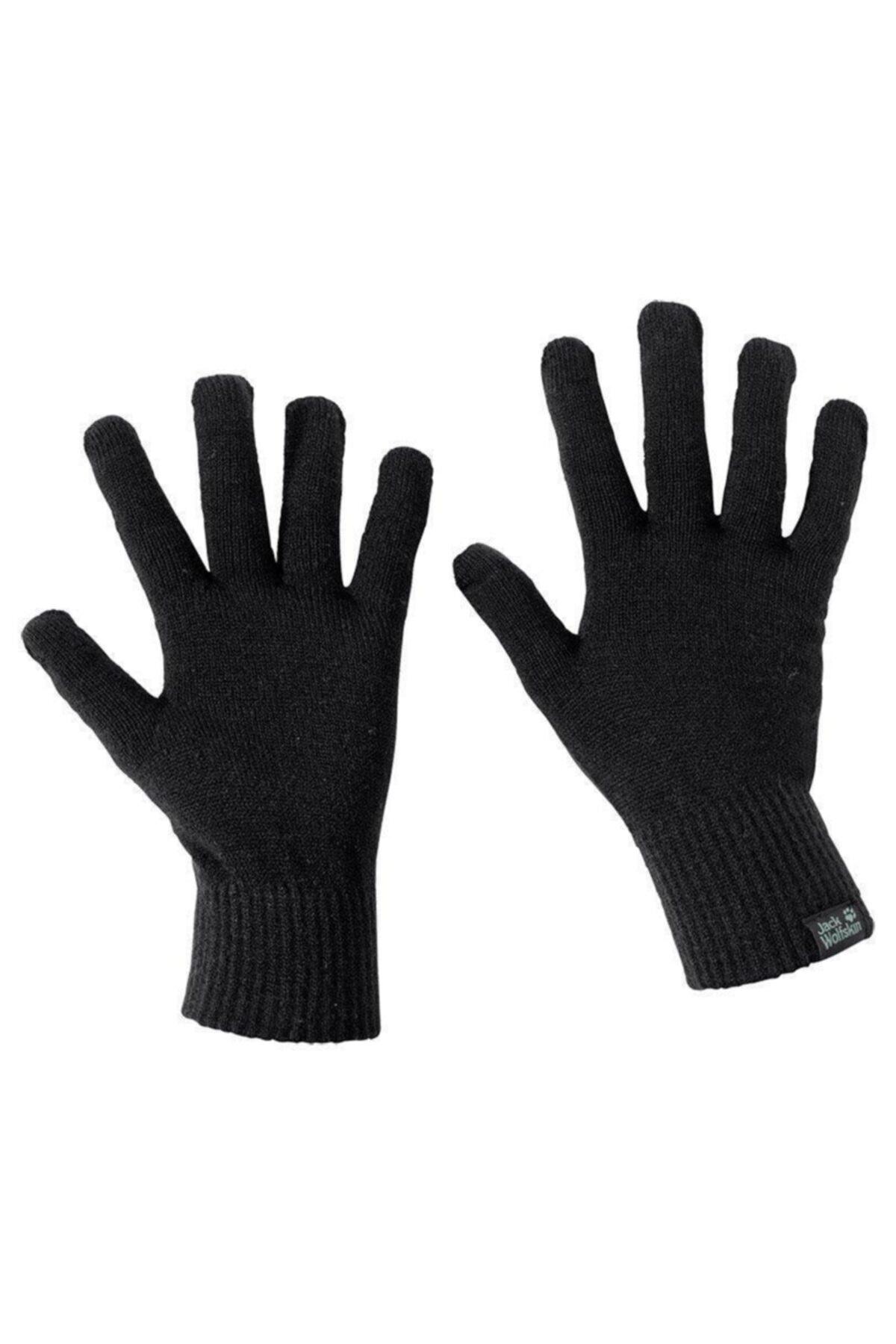 Jack Wolfskin Touch Knit Glove Unisex Eldiven - 1906391-6000 1