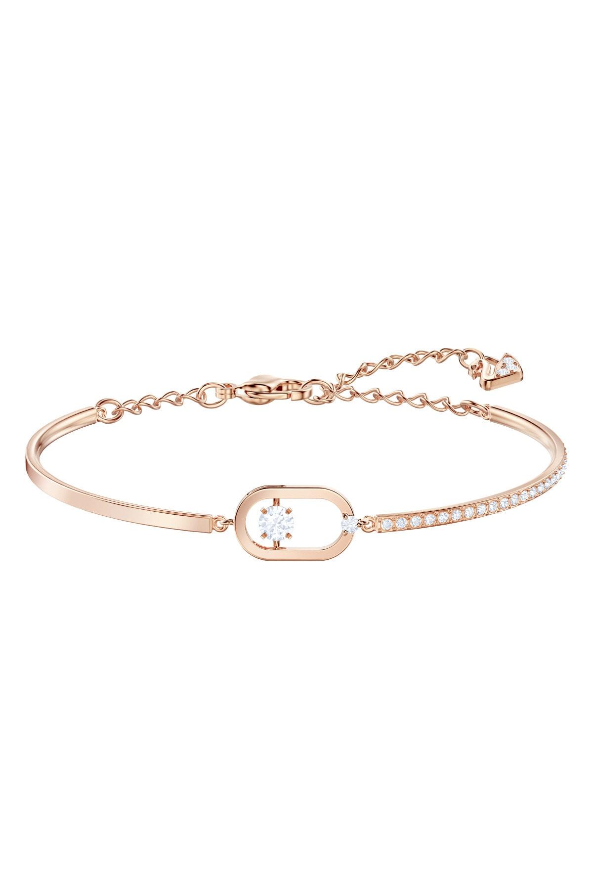 Swarovski 5472382 Bilezik North:bracelet Oval Pave Czwh/ros M 5472382 1
