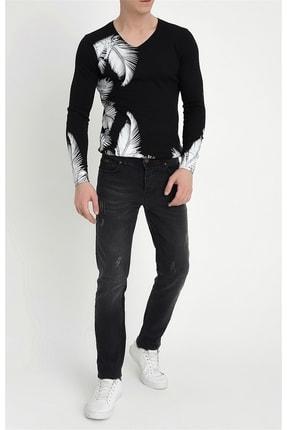 Efor 047 Slim Fit Siyah Jean Pantolon