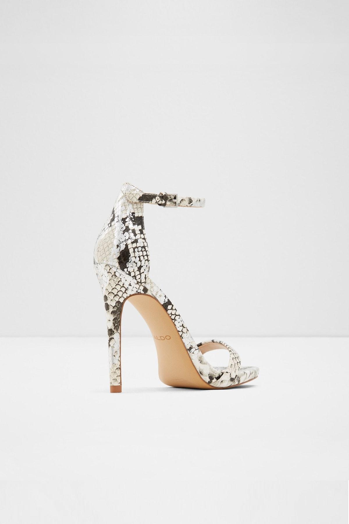 Aldo Caraa - Yılan Deseni Kadın Yüksek Topuklu Sandalet 2