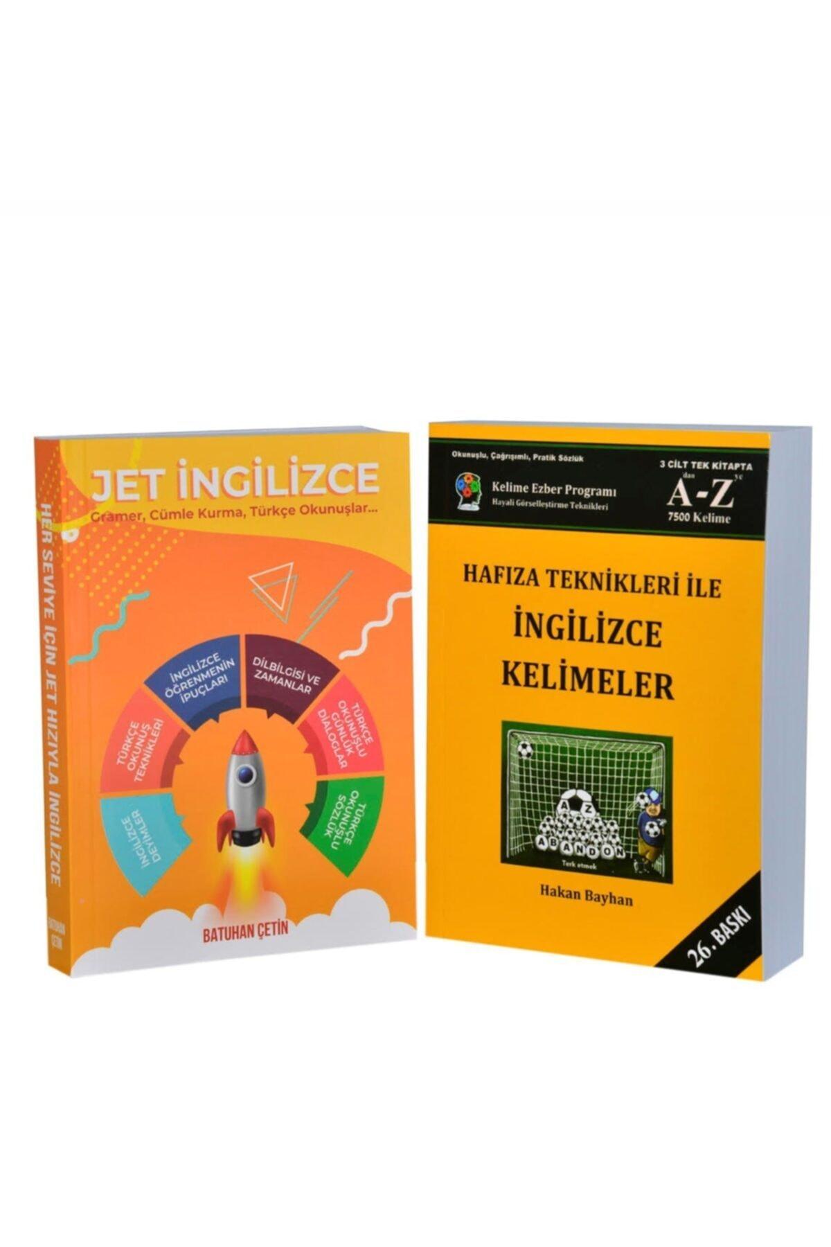Bayhan Yayıncılık Jet Ingilizce - Hafıza Teknikleri Ile Ingilizce Kelimeler ( Ikili Set ) - Ebatları: 14x20cm 1