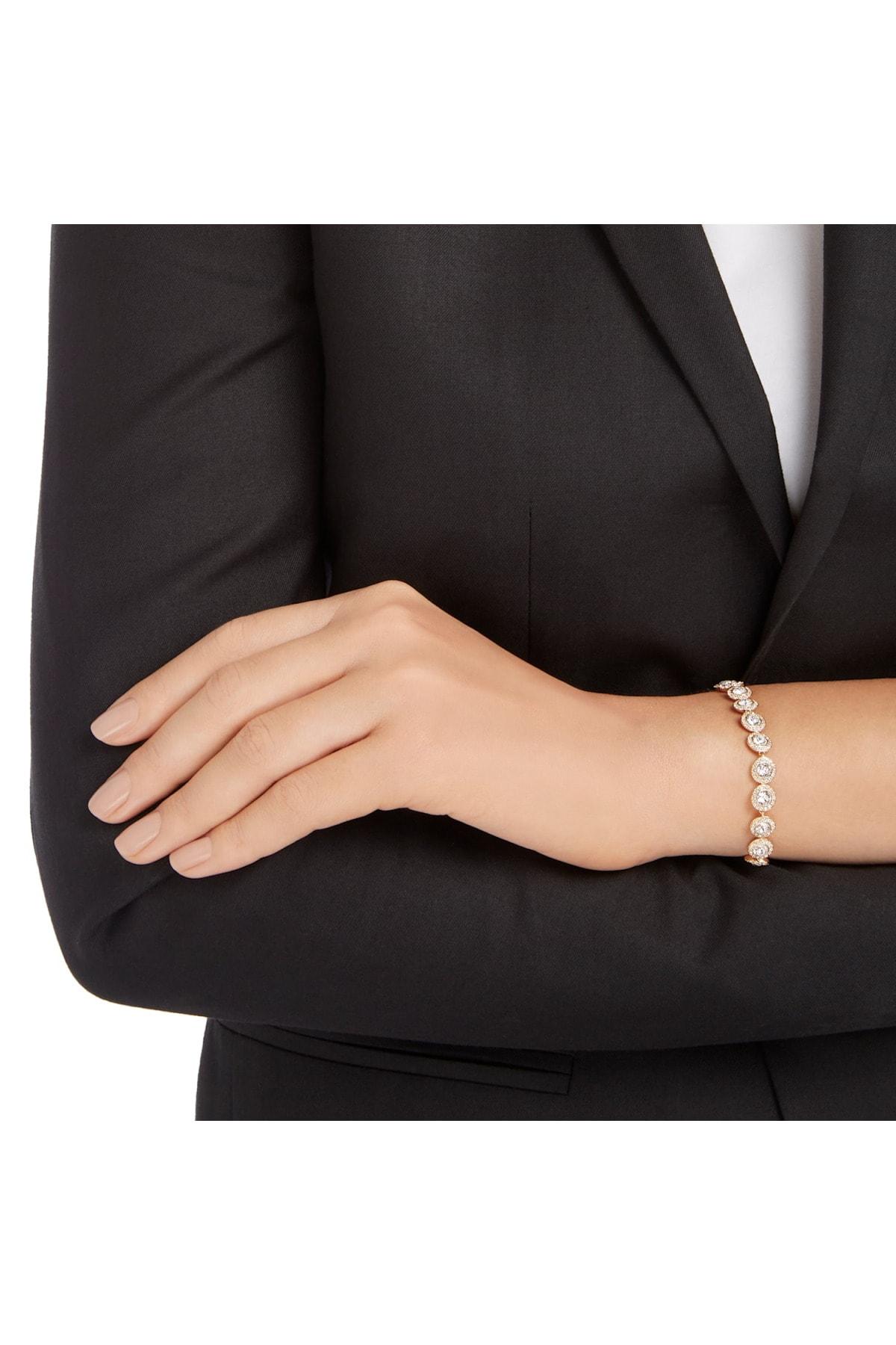 Swarovski Bilezik Angelic:bracelet Cry/ros M 5240513 2