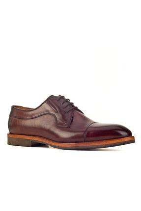 Cabani Streç Detaylı Hafif Light Taban Bağcıklı - Erkek Ayakkabı Kahve Antik Deri