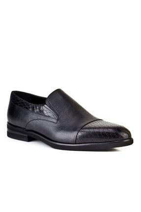 Cabani Light Taban Lazerli - Erkek Ayakkabı Siyah Buffalo Deri