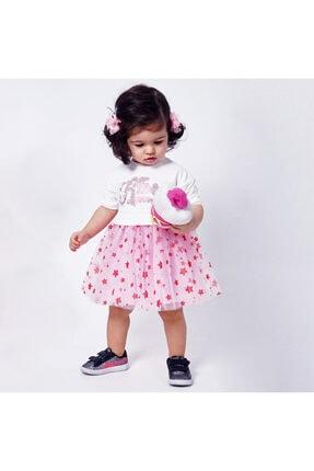 Panço Kız Bebek Örme Elbise 2011gb26002