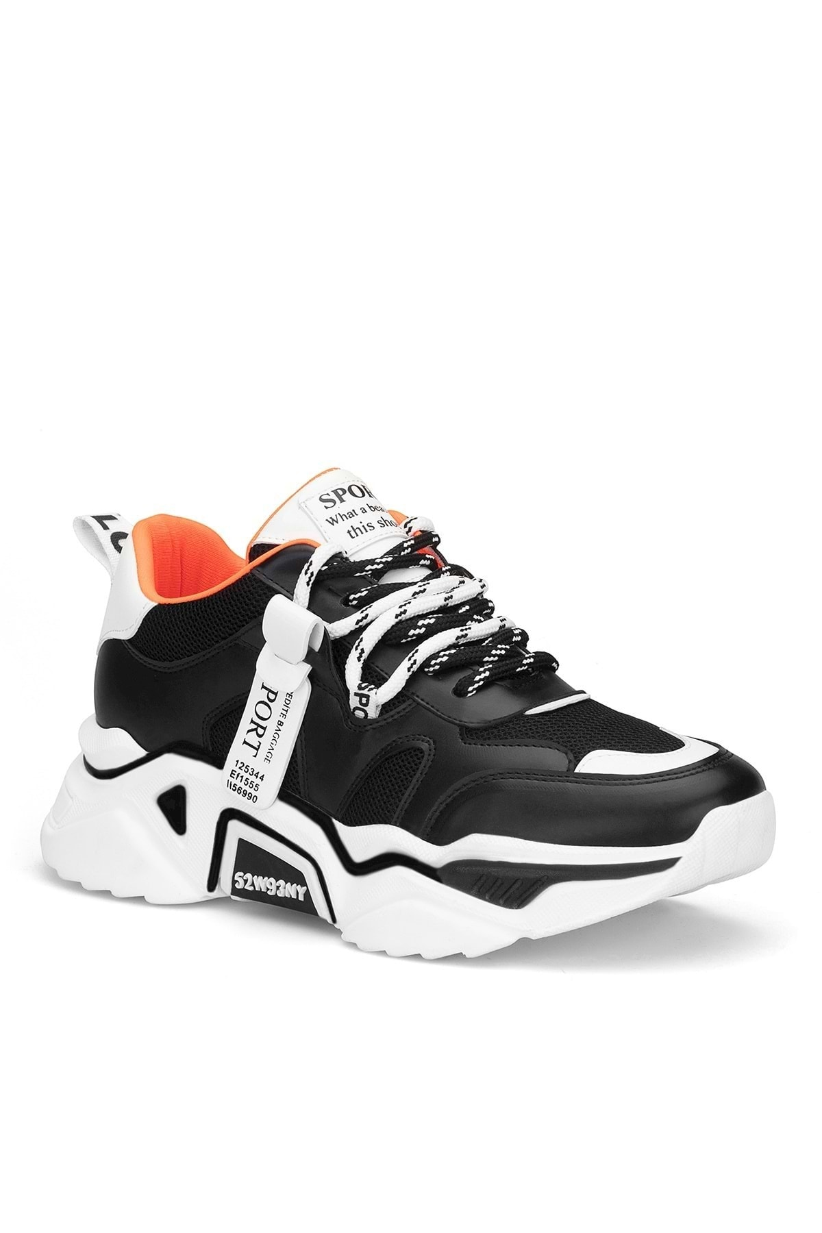 DARK SEER Siyah Kadın Sneaker 2