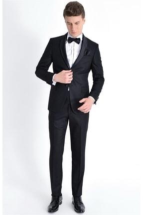 Efor 052 Slim Fit Siyah Black Takım Elbise