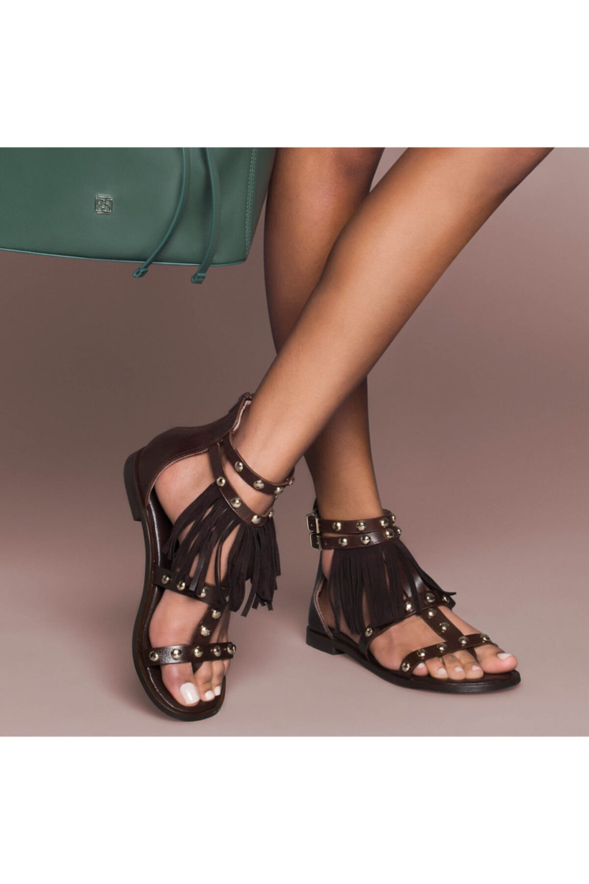 Desa Kirby Kadın Deri Sandalet 1