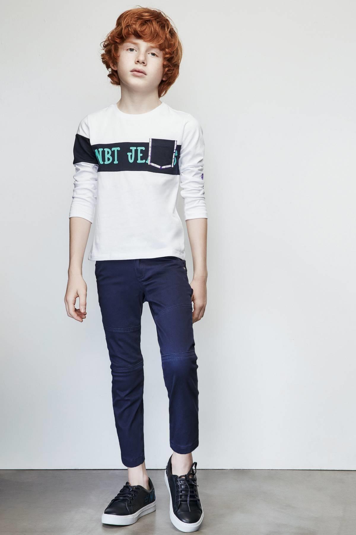 Nebbati Erkek Çocuk Lacivert Pantolon 1