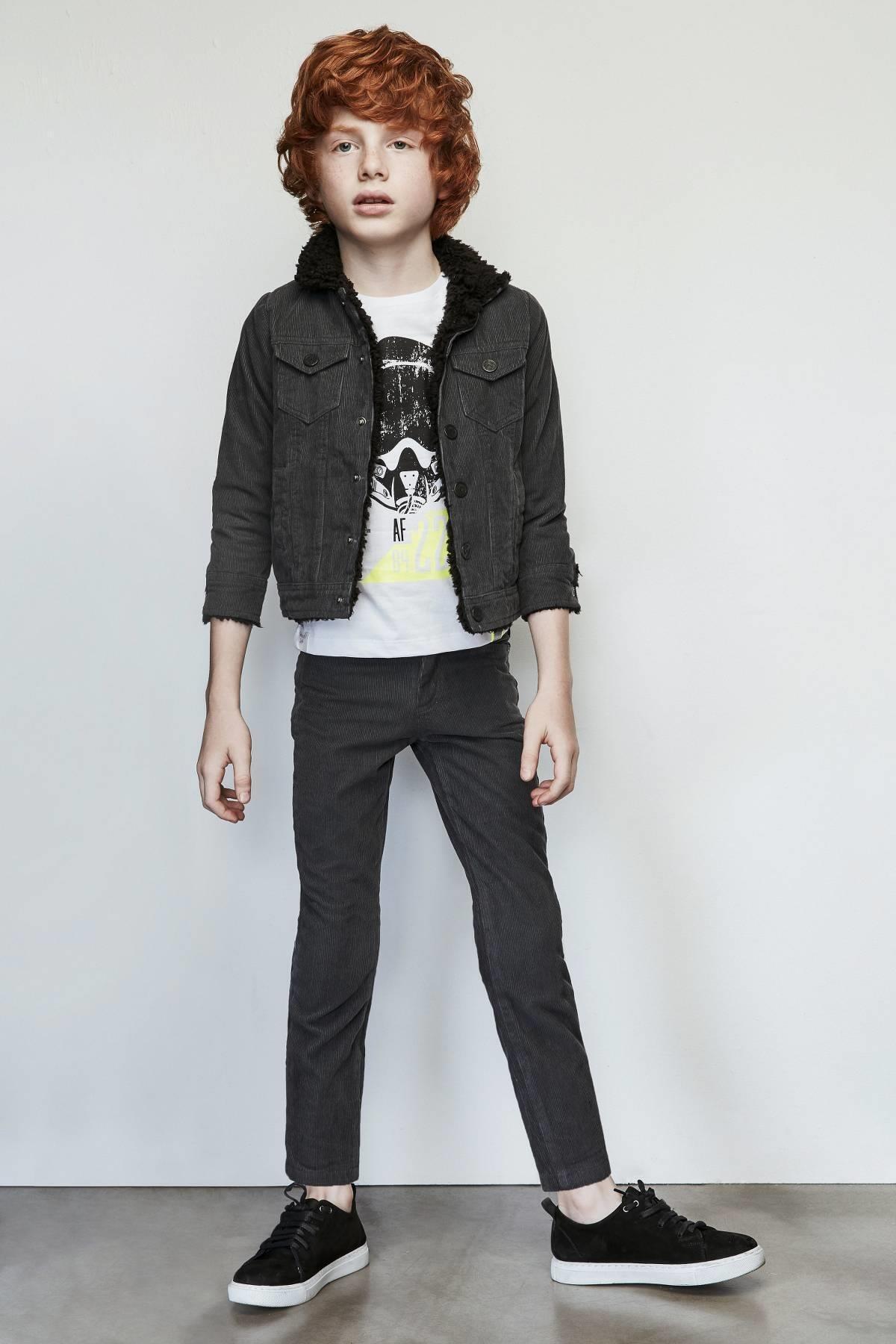 Nebbati Erkek Çocuk Siyah Pantolon 1