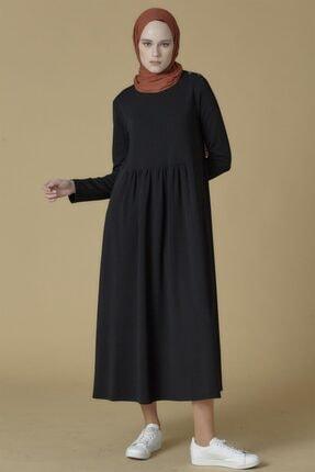 Armine Elbise 19ka9853 Siyah