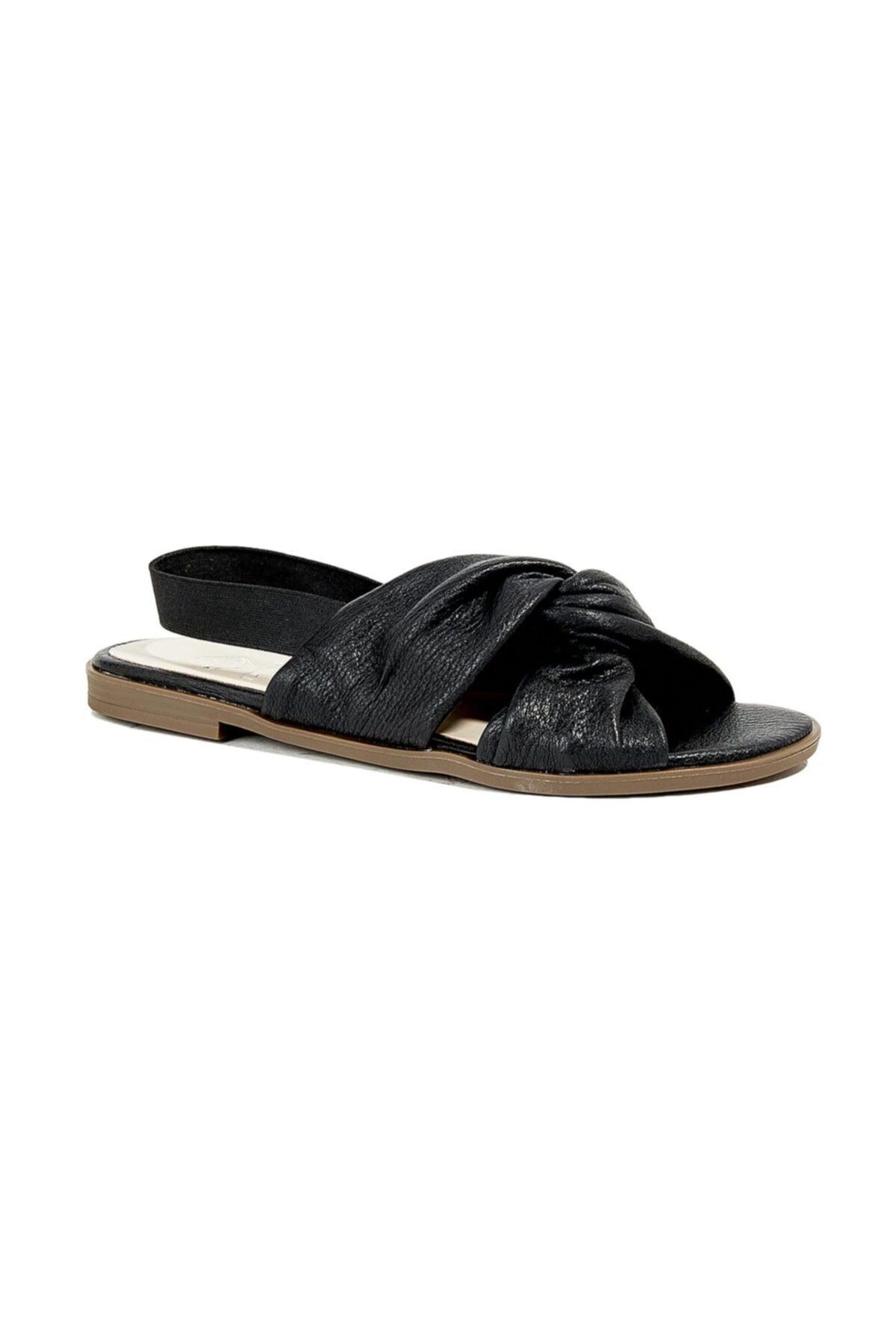 Desa Charina Kadın Deri Sandalet 1