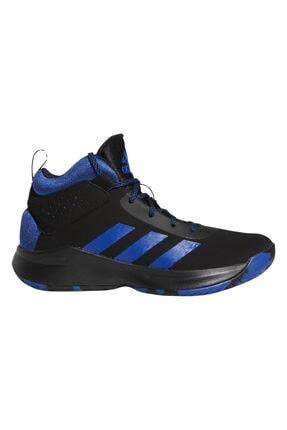 adidas Unisex Siyah Mavi Spor Ayakkabı Cross Em Up 5 (Gs)