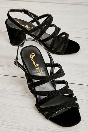 Bambi Sıyah Kadın Açık Ayakkabı L0503600072