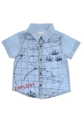 Panço Erkek Bebek Kısa Kollu Gömlek 1811292100
