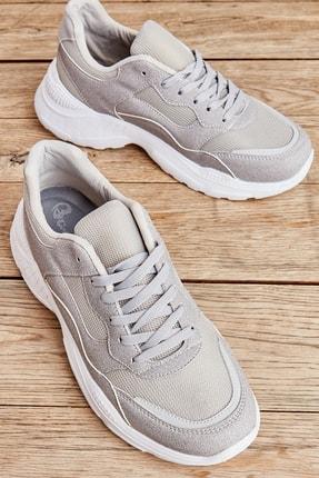 Bambi Gri Erkek Sneaker L1806069422