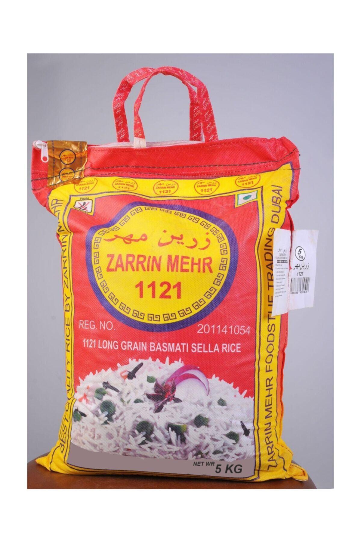 Zarrin Mehr Basmati Pirinç 5 Kg Hint Pirinci 1