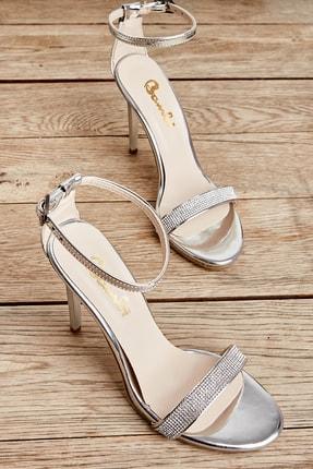 Bambi Lame Kadın Abiye Ayakkabı K01527008039