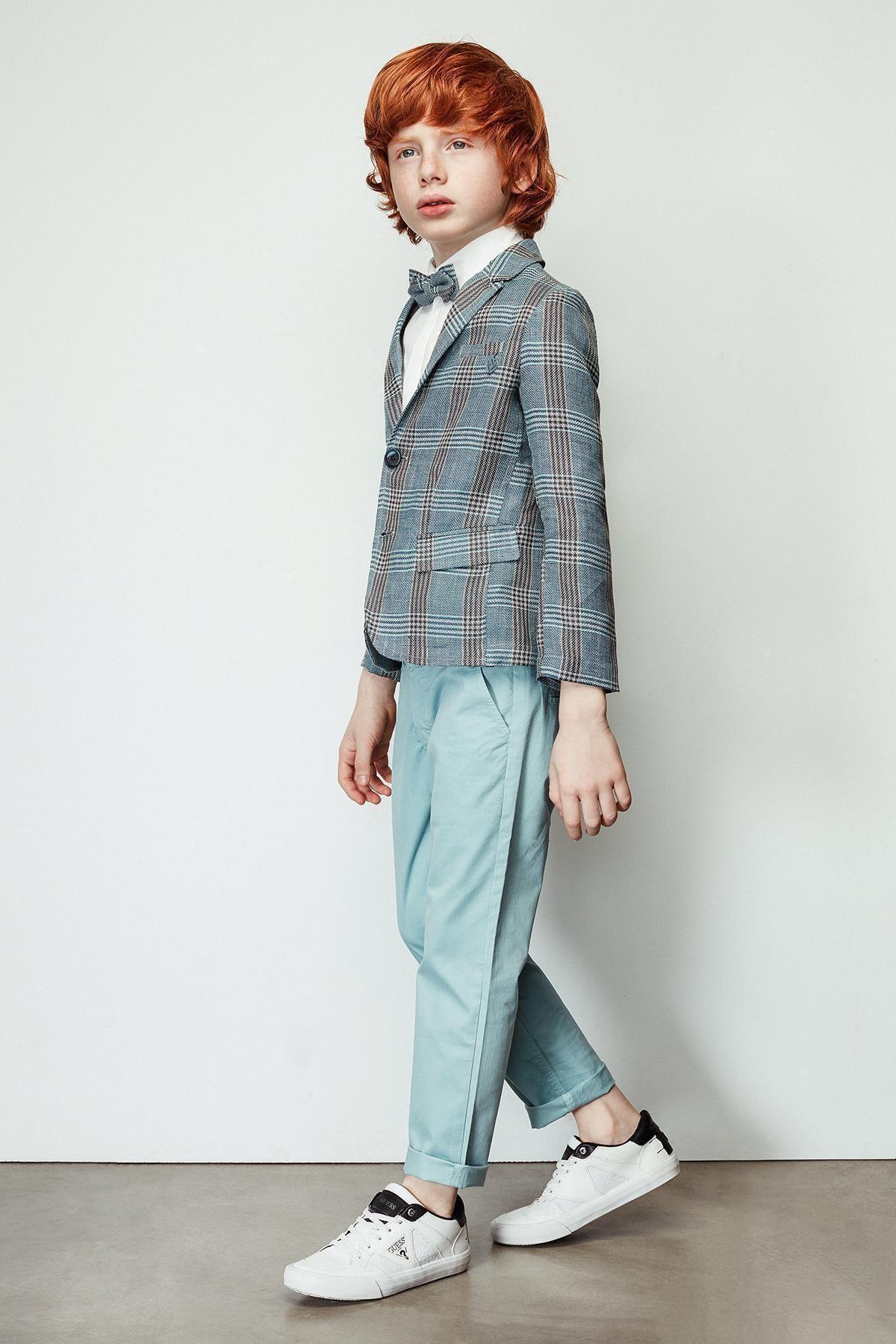 Nebbati Erkek Çocuk Yeşil Pantolon 19ss2nb3222 1